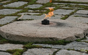 JFK's Eternal Flame ~ Arlington